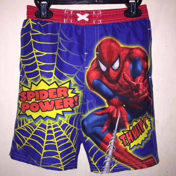 f8f2ed8576 Marvel Swim | Boys Trunk Shorts Spiderman Size 4t | Poshmark